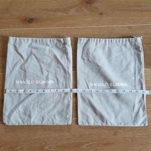 Manolo Blahnik Dust Bags